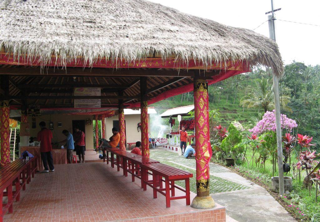 Hut at Telaga Waju