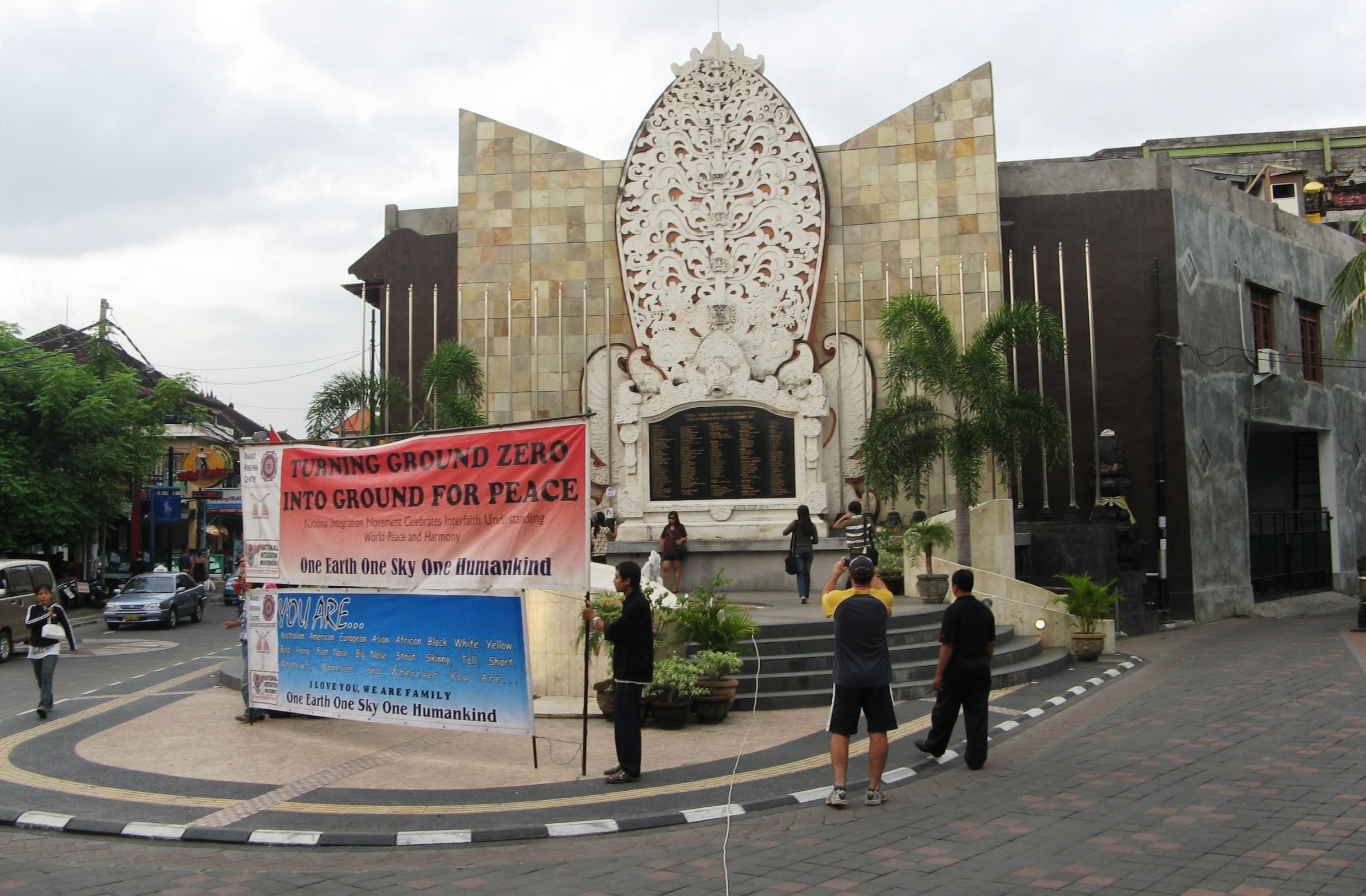 Memorial site on Bali Ground Zero