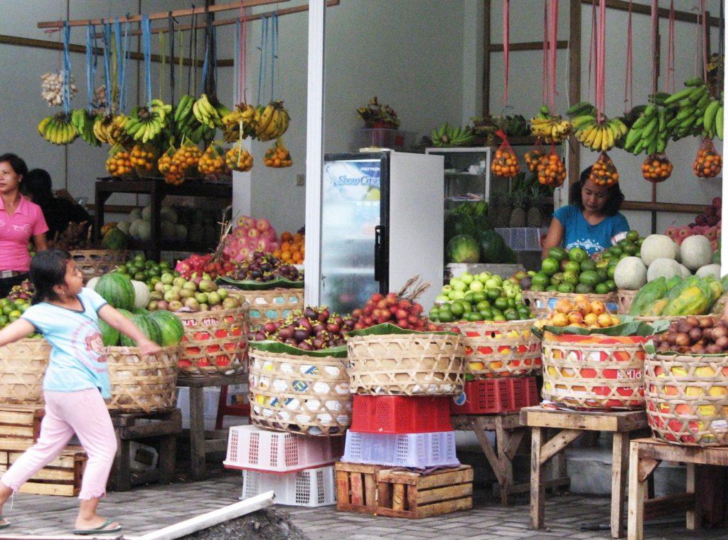 Bali fruit and veg