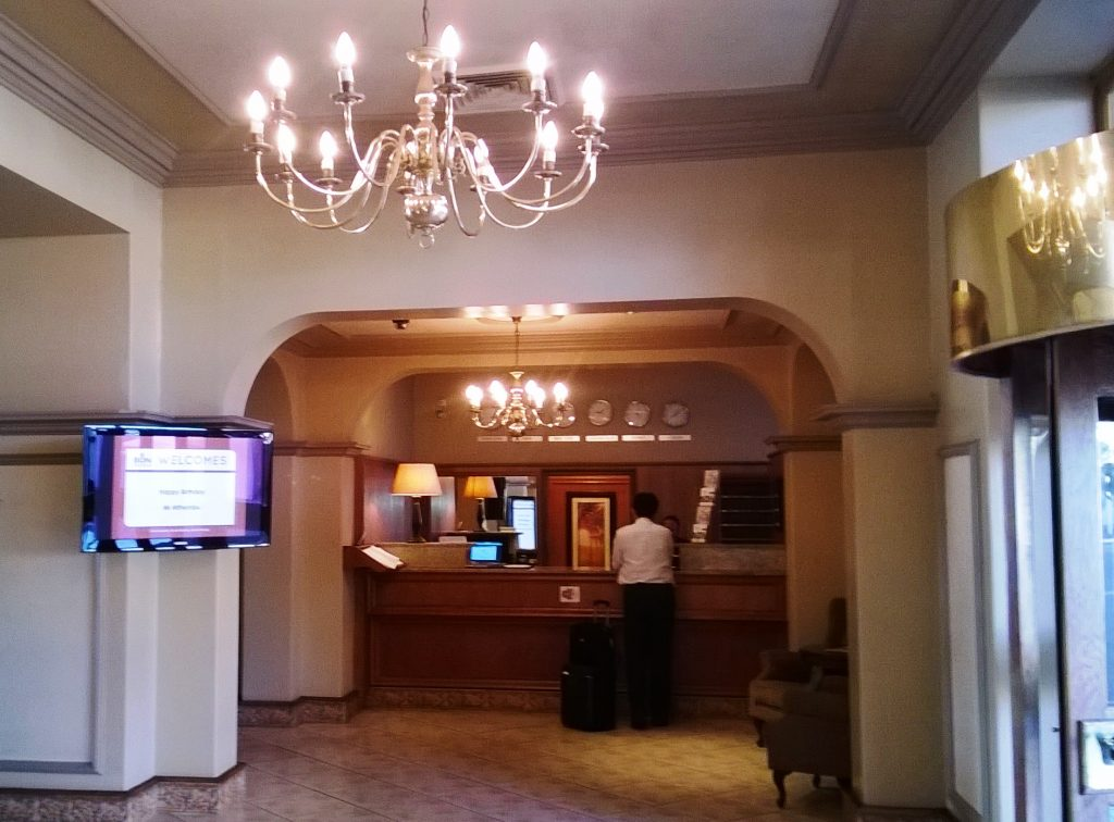 Bon Hotel Riviera on Vaal - reception