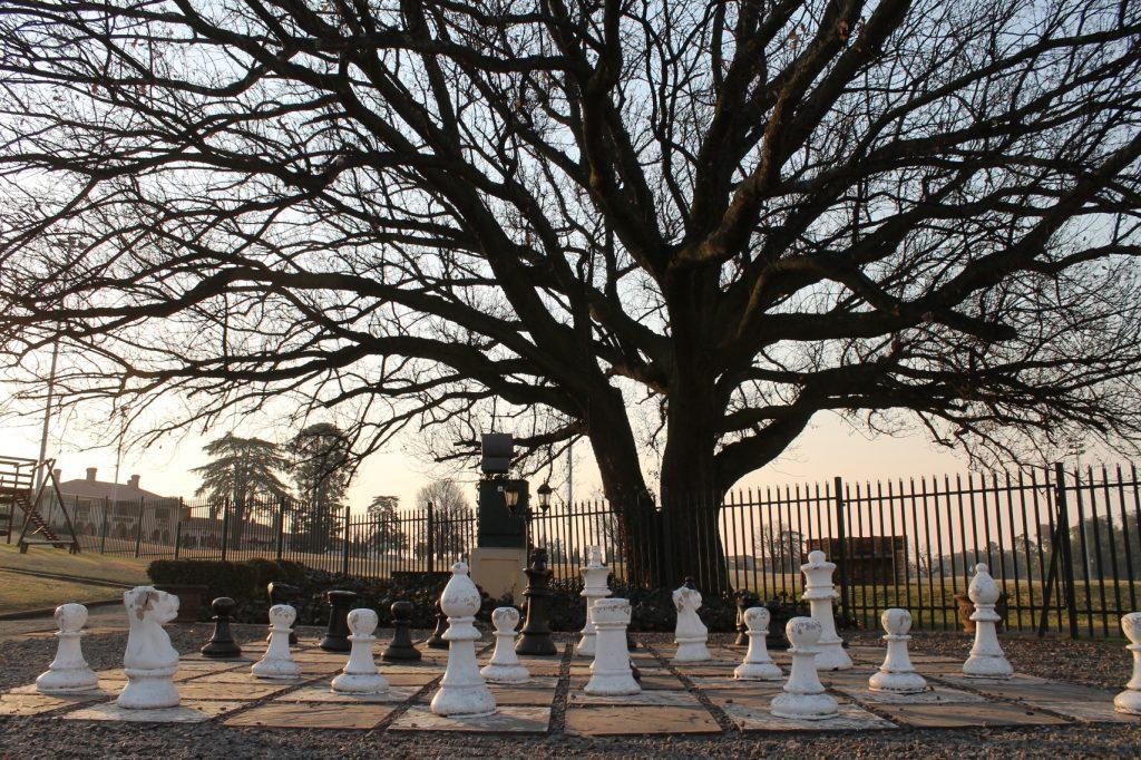 Bon Hotel Riviera on Vaal - giant chess set