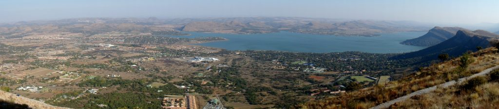 View of Hartbeespoort from the cableway