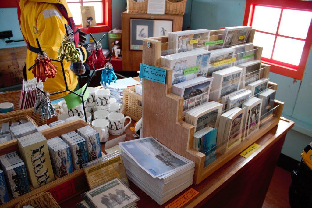 Gift Shop Port Lockroy