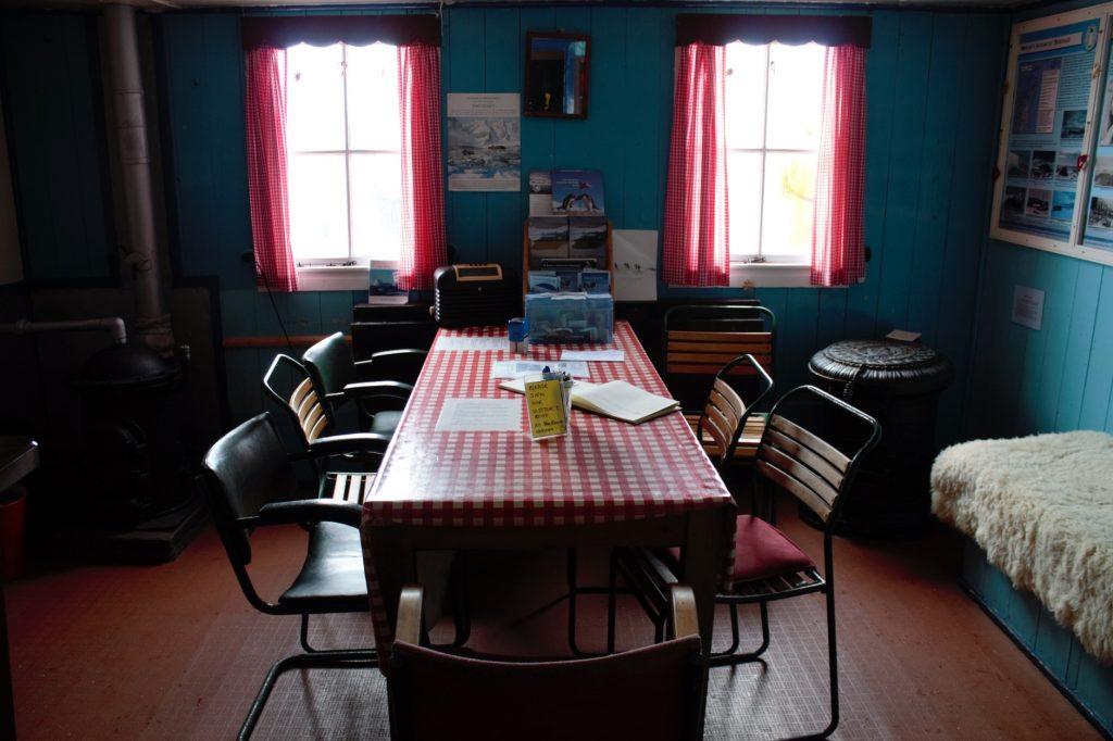 Dining Port Lockroy
