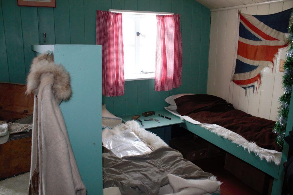 Sleeping quarters Port Lockroy