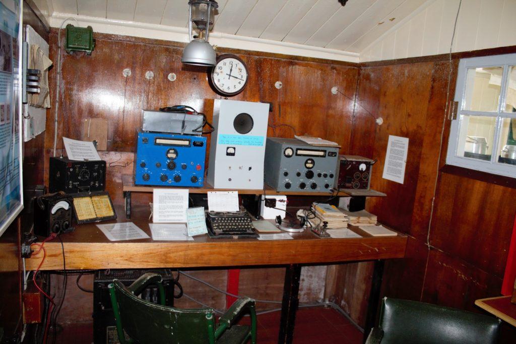 Radio Room Port Lockroy
