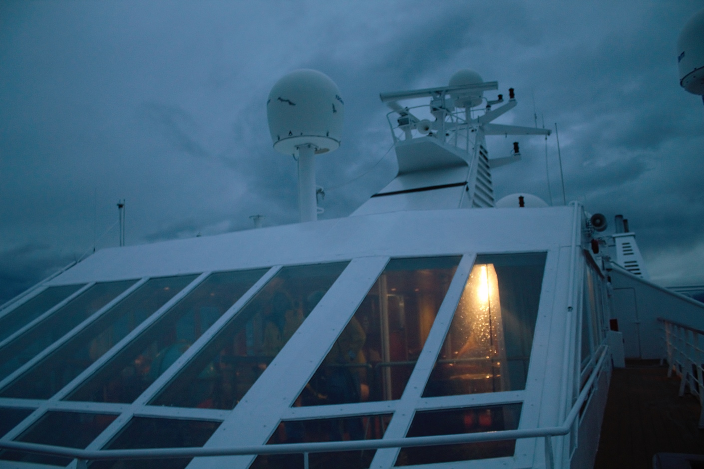drake passage at night