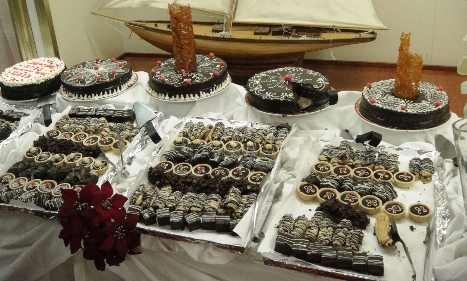 Ocean Diamond chocolate buffet