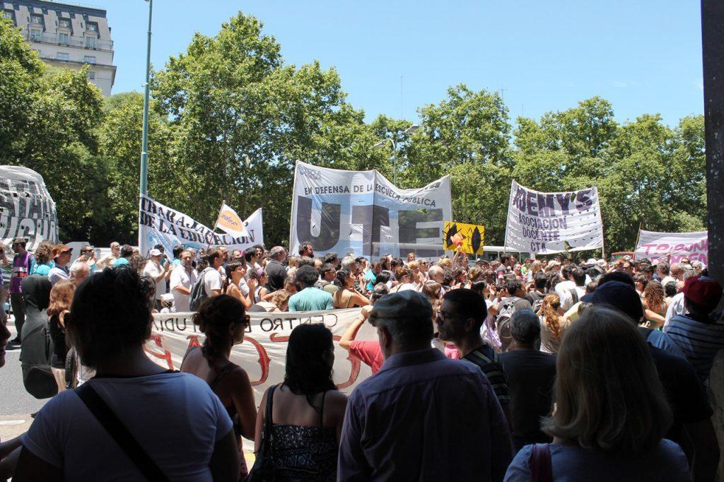 protest in BA