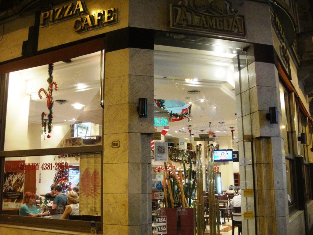 pizza cafe alameda