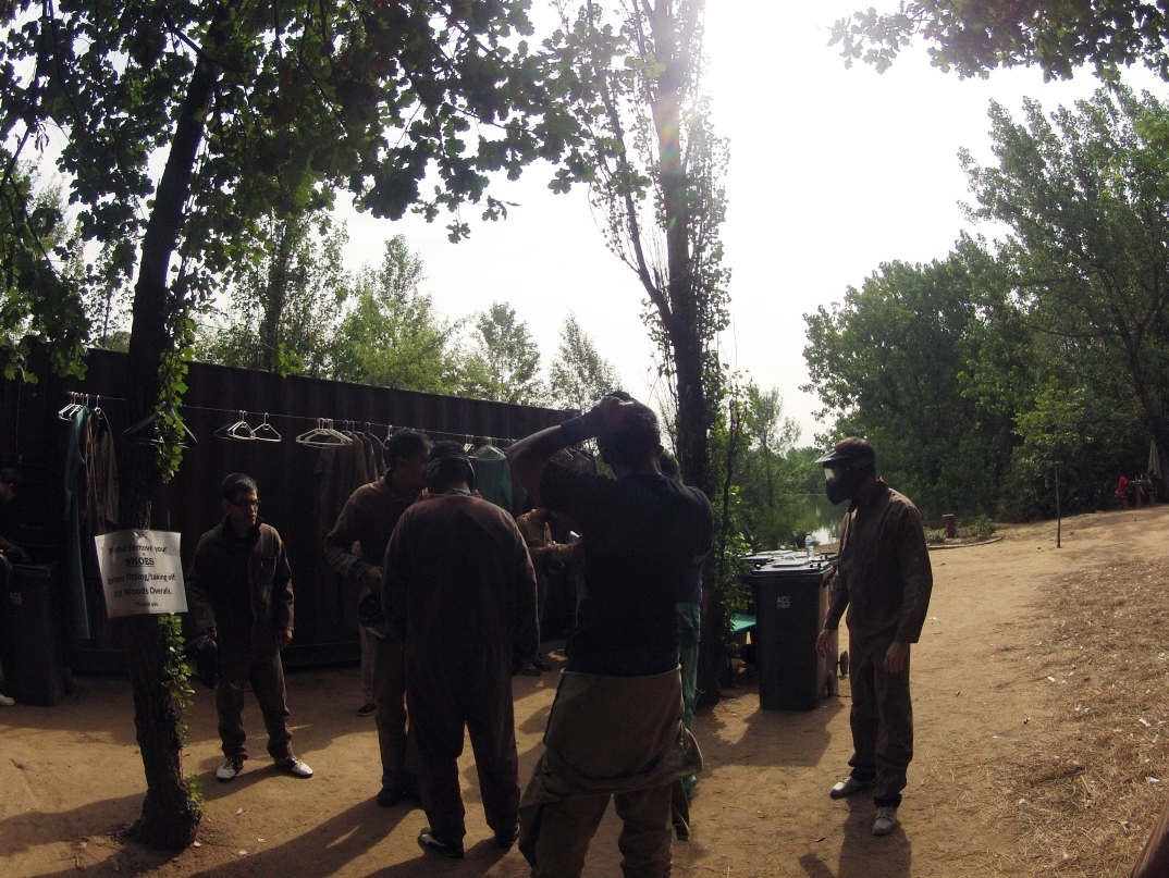 Paintball fun at The Woods in Johannesburg