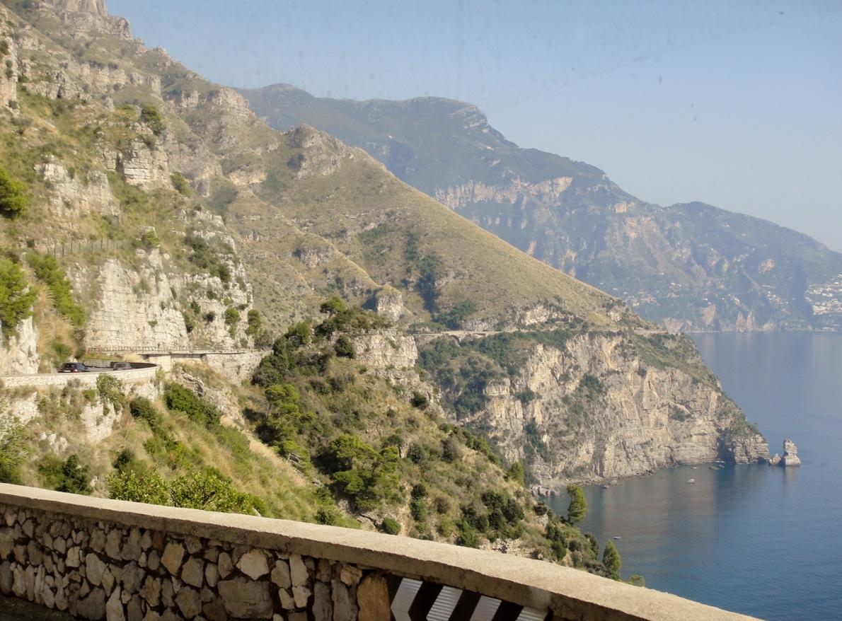 Amalfi Coast on SITA bus
