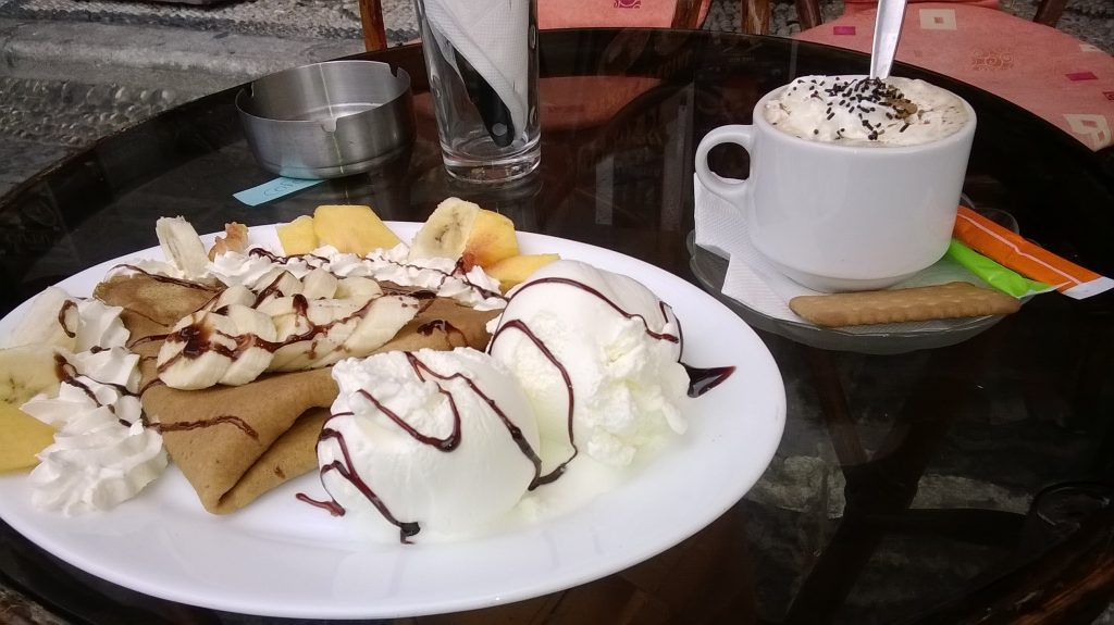 Crepes on Rhodes