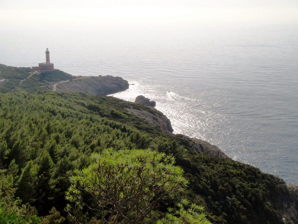 Lighthouse at Anacapri, Capri, Italy