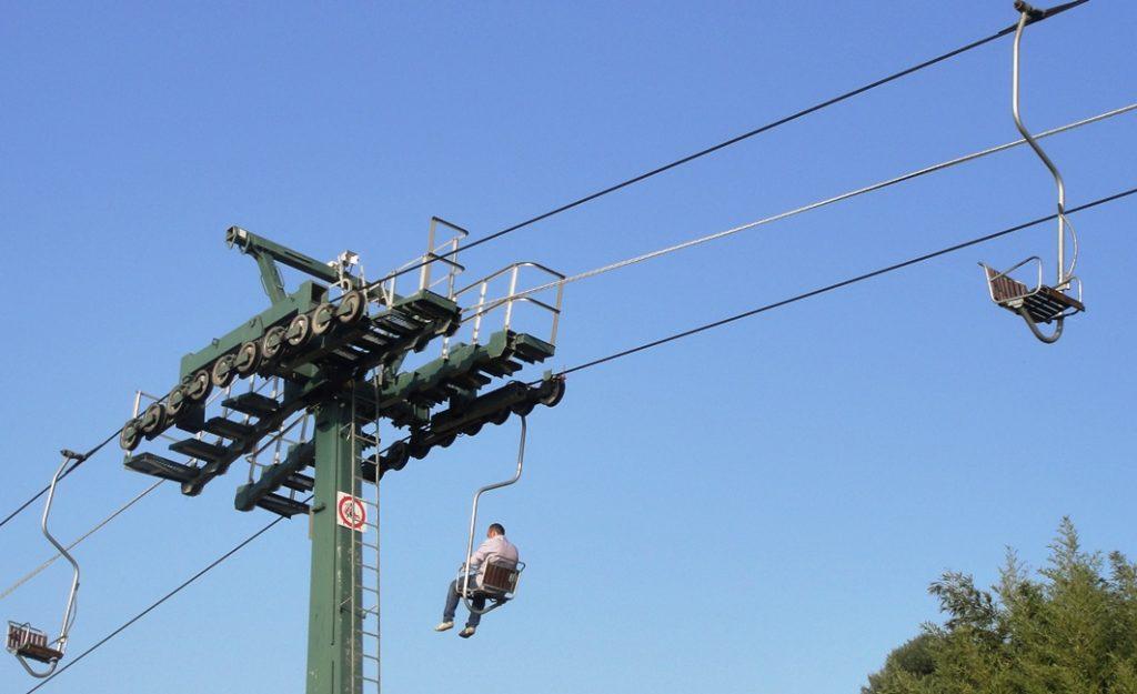 Cable car to Monte Solaro on Anacapri
