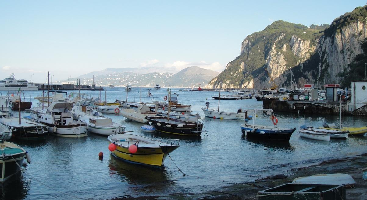 Dock at Capri