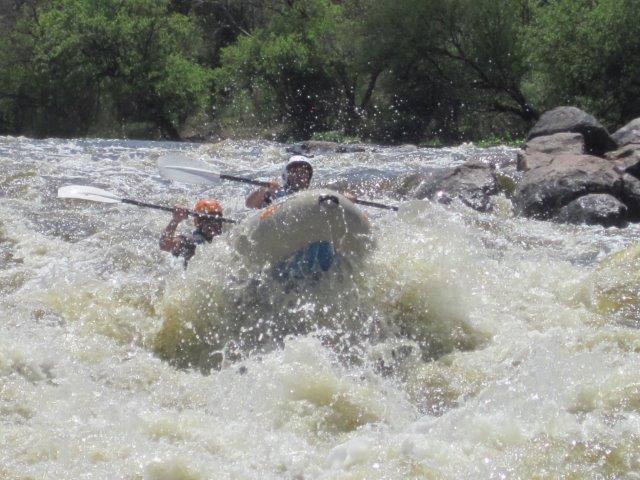 Vaal River white water rafting in Parys