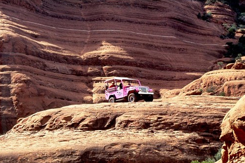 Pinkjeep