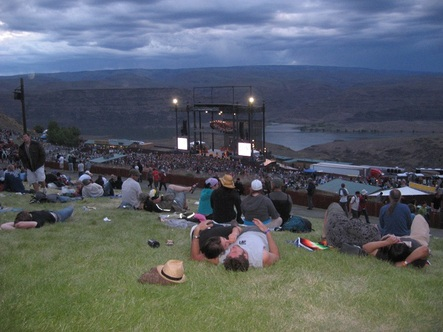 The Gorge Concert