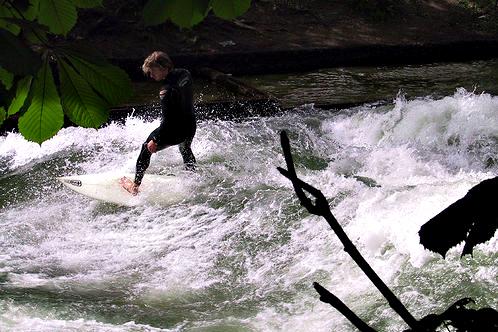 Isar-surfing