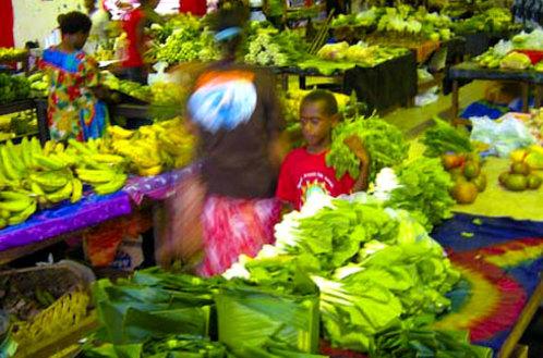 Vanuatu's Port Vila Market is