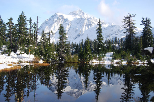 Mtbakerreflection