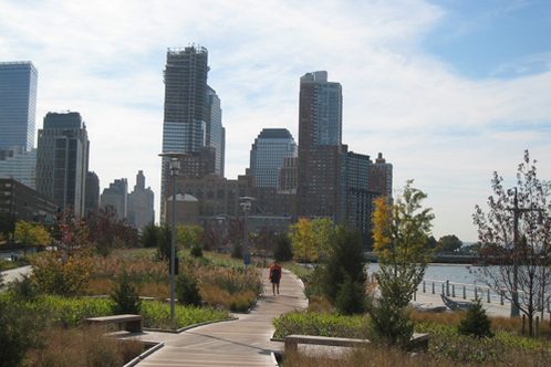 world financial center park on hudson