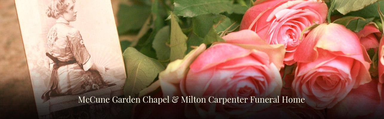 mccune garden chapel milton carpenter funeral home vacaville dixon california. beautiful ideas. Home Design Ideas