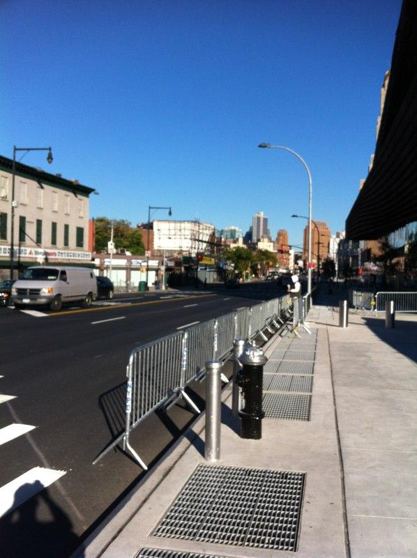 ブルックリンの歩道