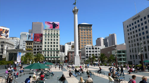 Union Square shopping. Chrissa Banner, SFGate as is the nine-story Westfield San Francisco Shopping Centre with its three-level Nordstrom and a shiny Bloomingdale's. and the small and.