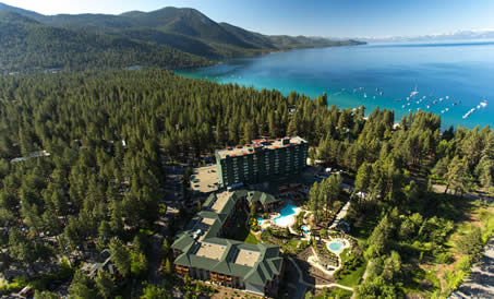 Hyatt Regency Lake Tahoe Resort, Spa & Casino, Welcome to the only 4 Diamond resort located on the shores of Lake Tahoe. Boasting an unbeatable secluded lakefront location on the North Shore of Lake Tahoe, the Hyatt Regency Lake Tahoe invites you to take in stunning 360 degree views of breathtaking snowcapped Sierra Nevada Mountains.   Convenient amenities abound in our 24-hour Grand Lodge Casino, 20k square-foot Stillwater Spa, 4 on-site restaurants including the award-winning Lone Eagle Grille on the lake (LoneEagleGrille.com), lagoon-style swimming pools, jetted hot tubs and resort fire pits. Located minutes from the Reno/Tahoe International Airport, the Hyatt Regency Lake Tahoe is the first resort you'll reach when traveling to this beautiful mountain destination; all only minutes from world-class golf, skiing and attractions.  Located in Nevada; our resort let's you tempt lady luck in the Grand Lodge casino 7 days a week for that little extra fun you've been looking for. Find exquisite dining and breathtaking views in the Lone Eagle Grille located on the shores of Lake Tahoe. Experience world-class buffets in Sierra Cafe and all night dinner and dancing in Cutthroat's Saloon and Sports Bar. On the go? Stop by Tahoe Provisions, the gourmet deli, for fresh brewed Starbucks coffee, breakfast, lunch, and dinner to-go.   Visit the all-inclusive Sport Shop located in the lobby for all of your rental, clothing and equipment needs. Book lessons here, get direct-to-lift tickets here, wax and repair your skis and boards here, and even set-up in-room custom rental fittings. Enjoy a relaxing day in the Stillwater Spa after a day on the slopes where you can swim in our swim-in swim-out heated 80-degree pool and soothe your muscles in our oversized jetted Jacuzzi tubs while you watch the snowfall. Have fun roasting s'mores as the sun disappears behind the snow capped peaks at one of our many lakeside fire pits... With free ski resort shuttles leaving every half-hour, après s