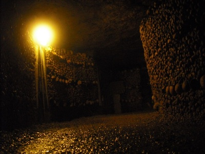 Paris Catacombs - Long Line