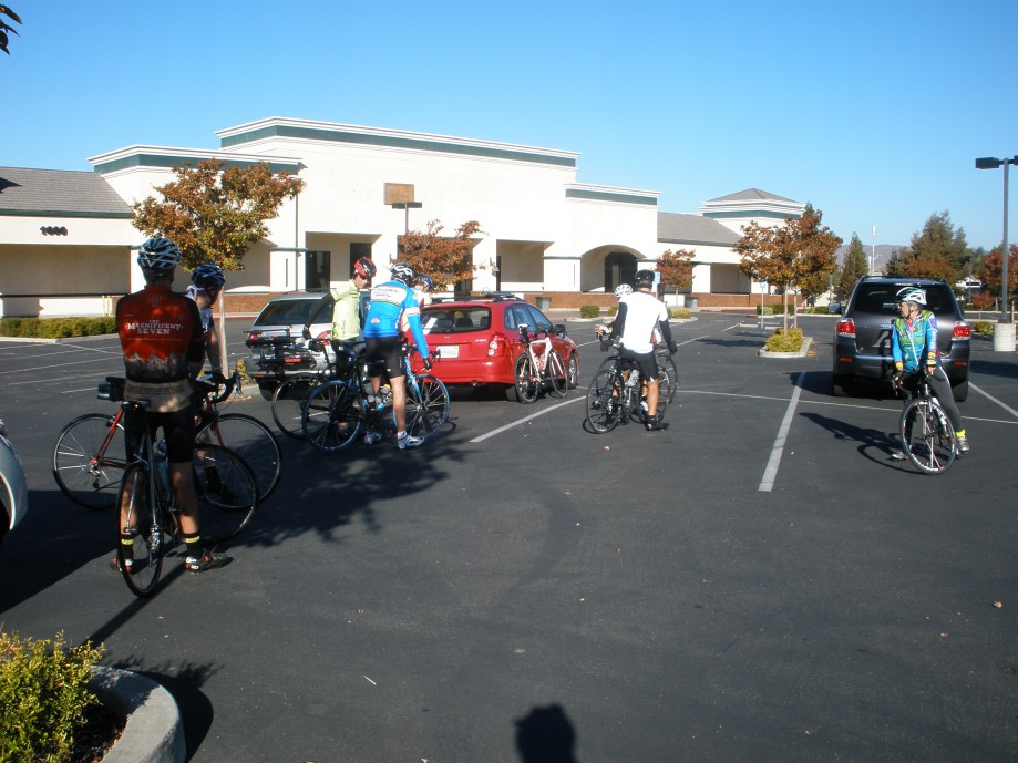 Trip photo #1/21 Ride start at shopping center at Scenic and Vasco in Livermore