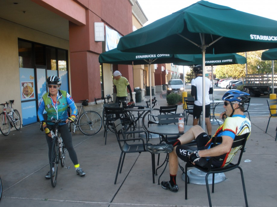 Trip photo #3/21 Refreshment stop at Starbucks in Tracy