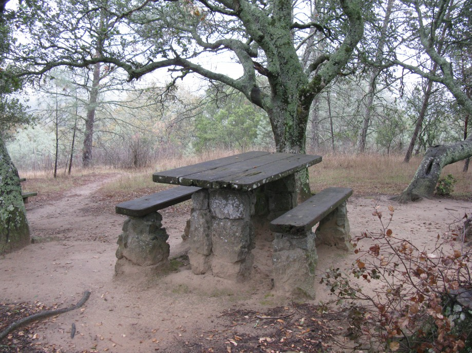 Trip photo #11/18 Very sturdily supported picnic table