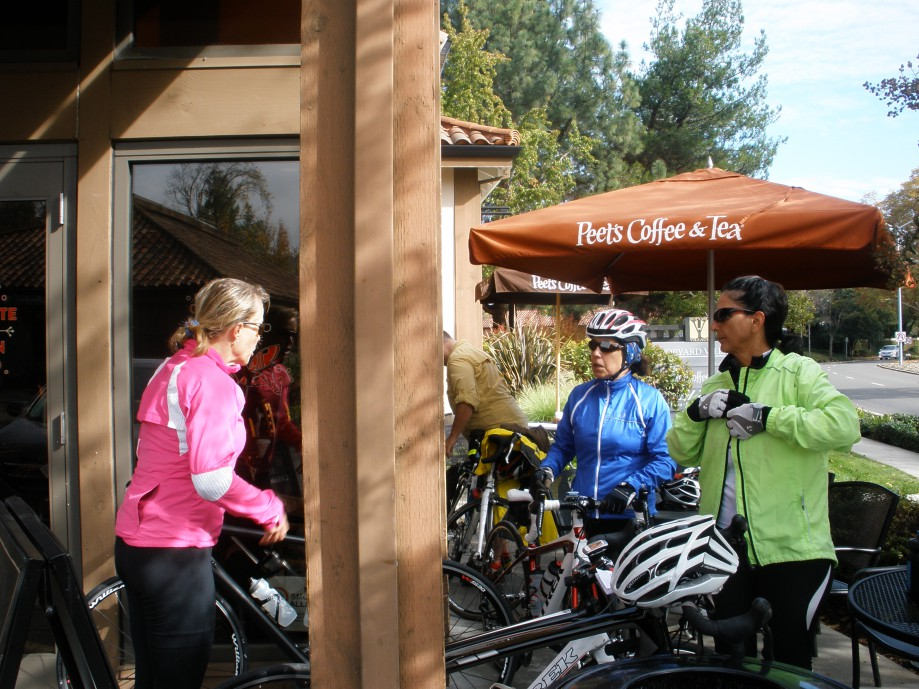 Trip photo #10/14 Refreshment stop at Peet's