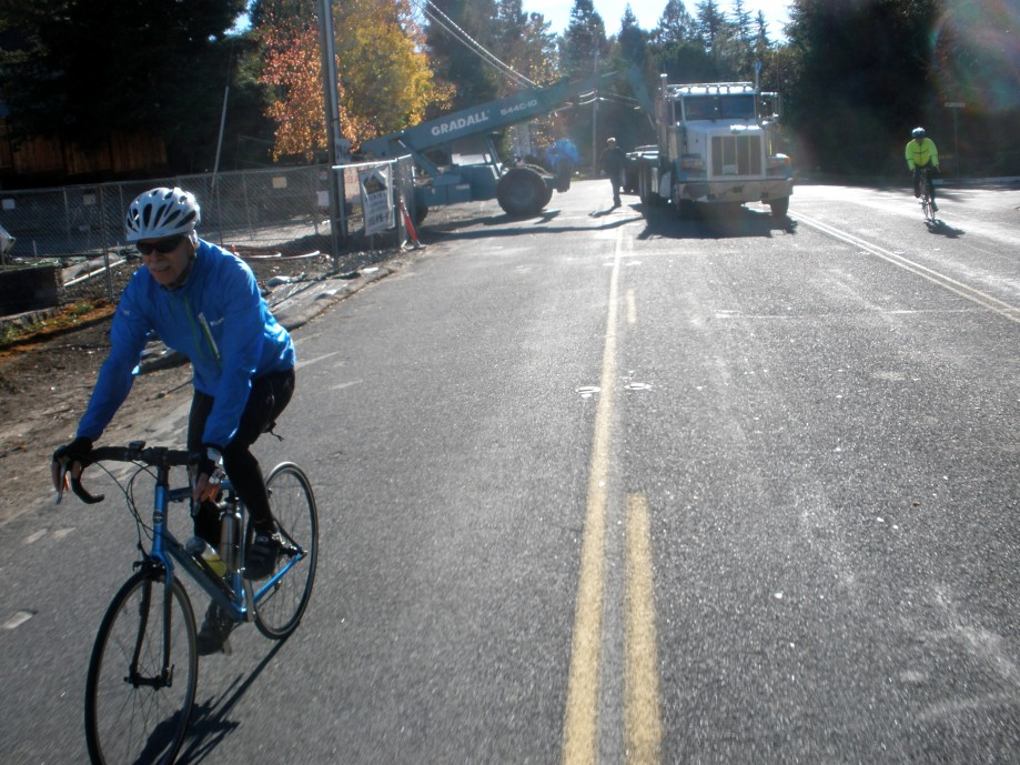 Trip photo #10/26 Partial road closure on Reliez Valley