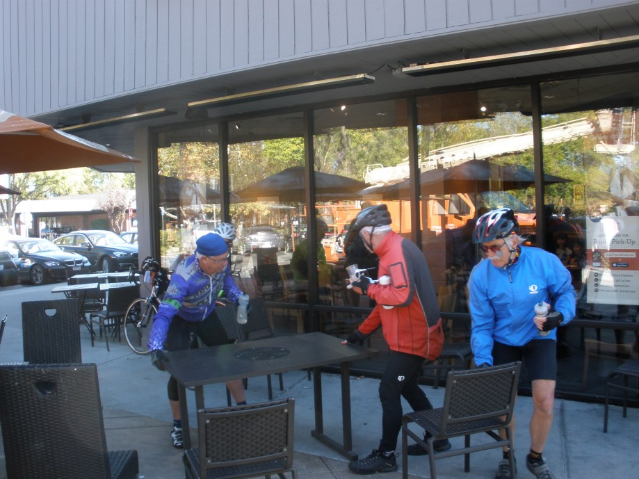 Trip photo #21/26 Refreshment stop at Paneras