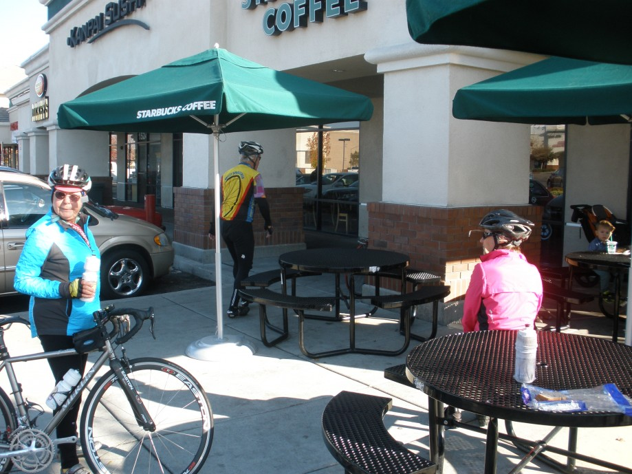 Trip photo #4/14 Refreshment stop at Starbucks on Vasco