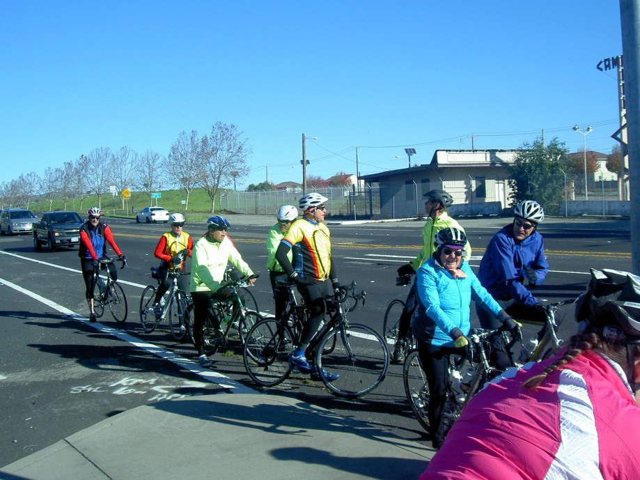Trip photo #3/12 Crossing Dougherty on the Iron Horse