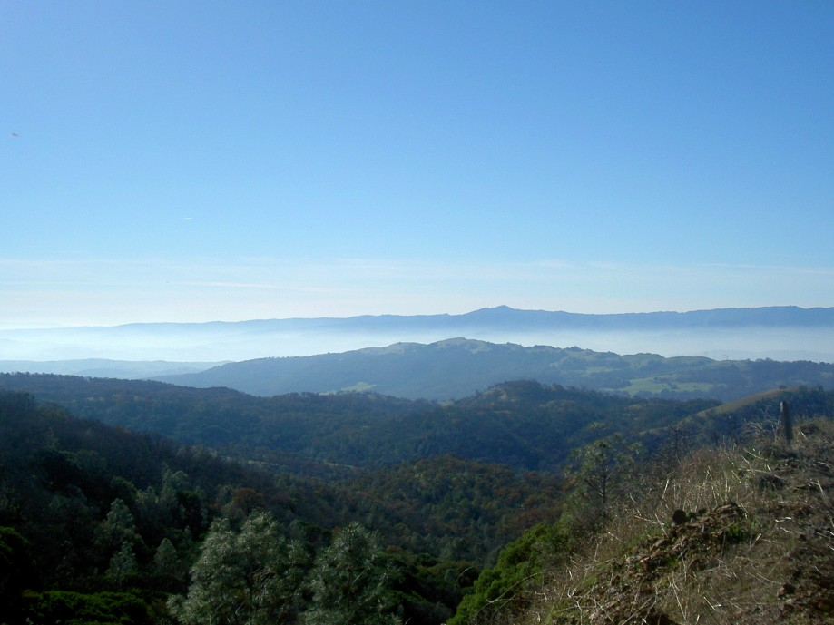 Trip photo #6/26 View across the valley towards Loma Prieta