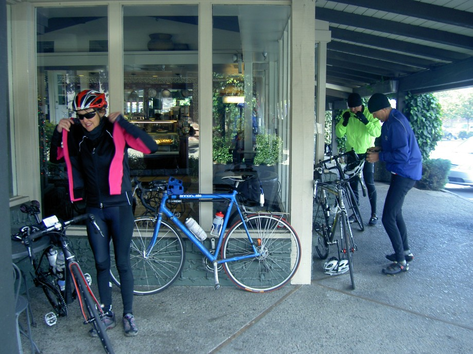 Trip photo #18/20 Refreshment break in Moraga