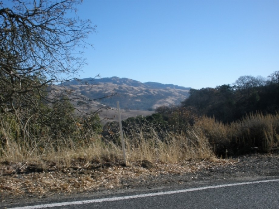 Trip photo #6/40 A glimpse of our destination on the distant mountaintop