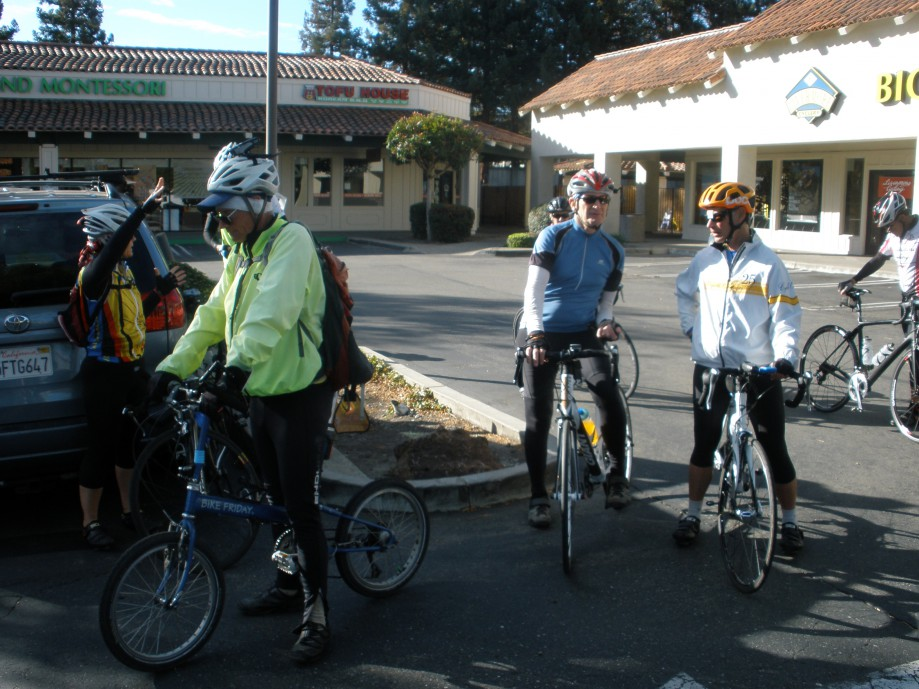 Trip photo #1/21 Ride start at Dublin location of Livermore Cyclery