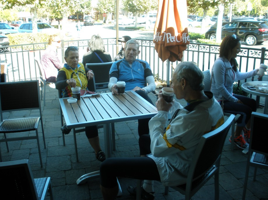 Trip photo #9/21 Refreshment stop at Peet's in Alamo