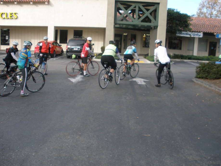 Trip photo #1/4 Ride start at Dublin location of Livermore Cyclery