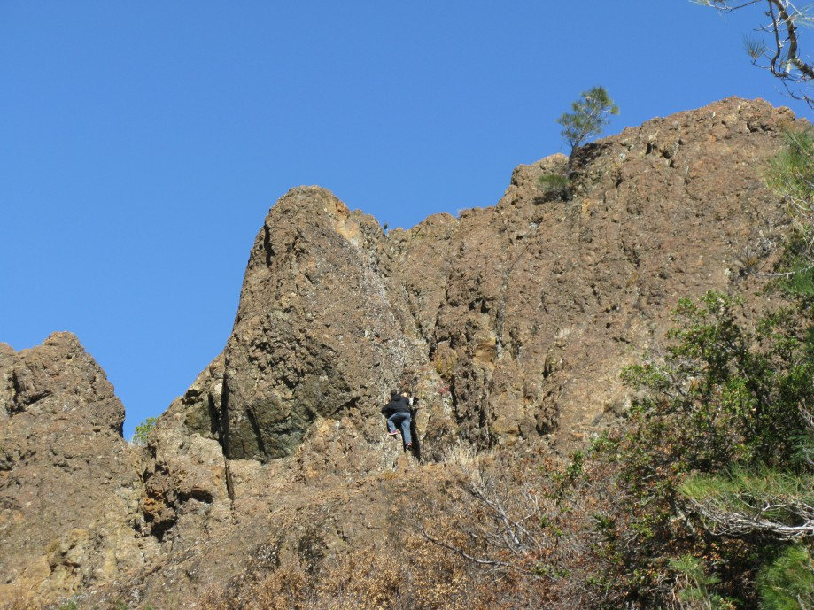 Trip photo #27/42 Rock climber near Devil's Pulpit