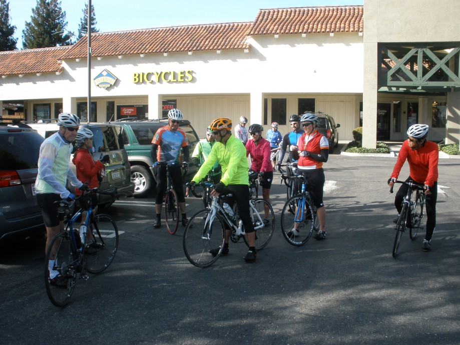 Trip photo #1/13 Ride start at Dublin location of Livermore Cyclery