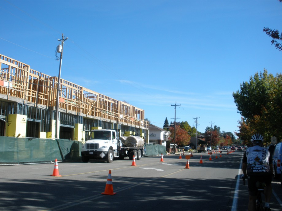 Trip photo #12/12 Construction in downtown Danville