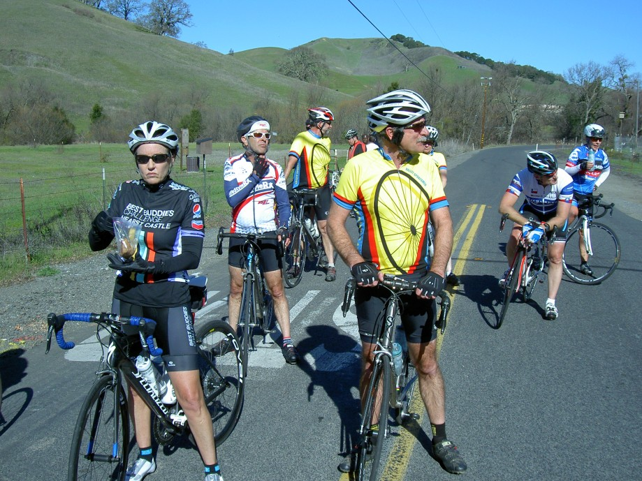 Trip photo #16/31 Regroup at Bear Creek Rd.